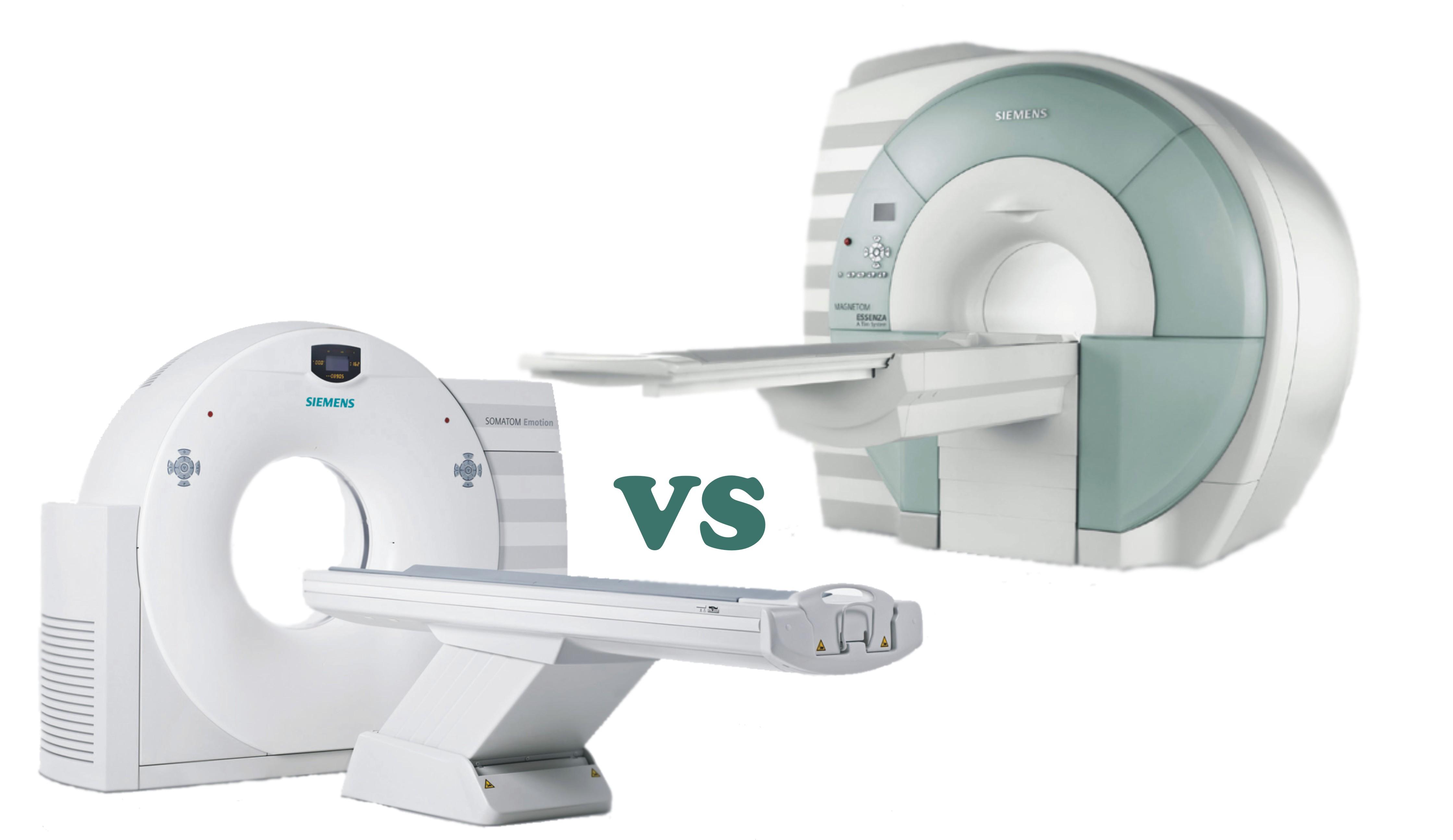 Компьютерный и магнитно-резонансный томографы Siemens